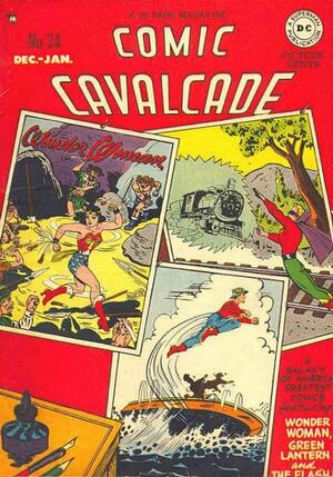 Cover for Comic Cavalcade #24