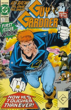Cover for Guy Gardner #1