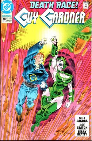 Cover for Guy Gardner #10