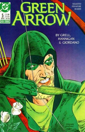 Cover for Green Arrow #5