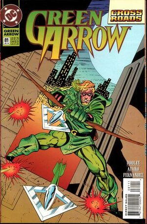 Cover for Green Arrow #81