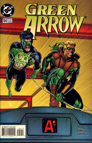 Cover for Green Arrow #104