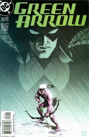 Cover for Green Arrow #22