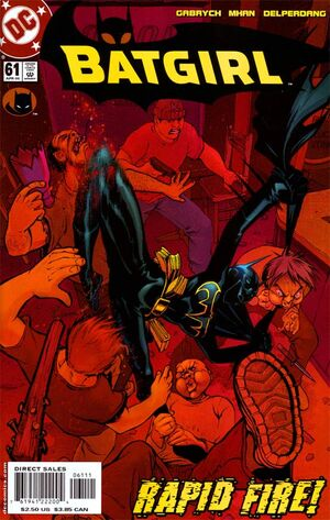 Cover for Batgirl #61