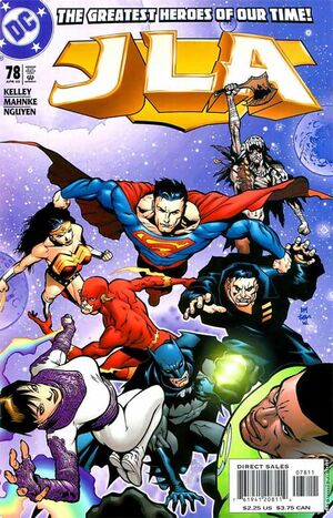 Cover for JLA #78