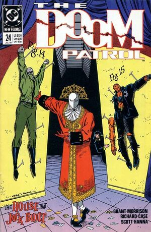 Cover for Doom Patrol #24
