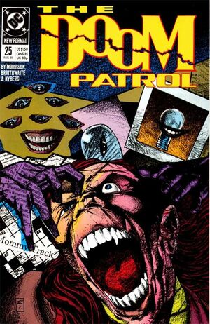 Cover for Doom Patrol #25