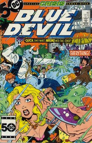 Cover for Blue Devil #17