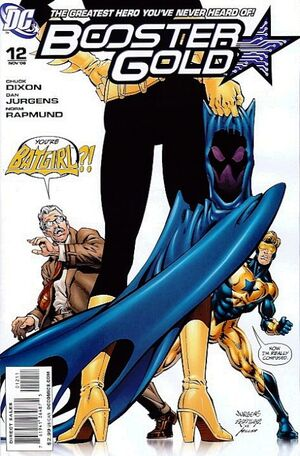 Cover for Booster Gold #12