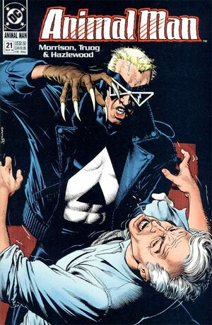 Cover for Animal Man #21