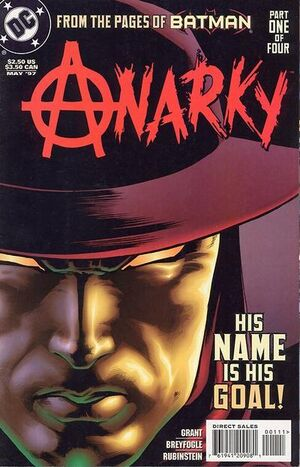 Cover for Anarky #1