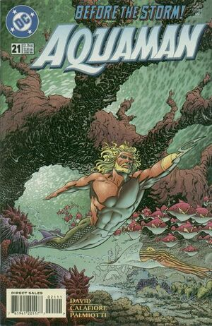 Cover for Aquaman #21