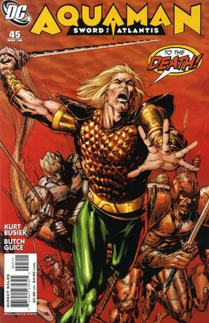 Cover for Aquaman: Sword of Atlantis #45