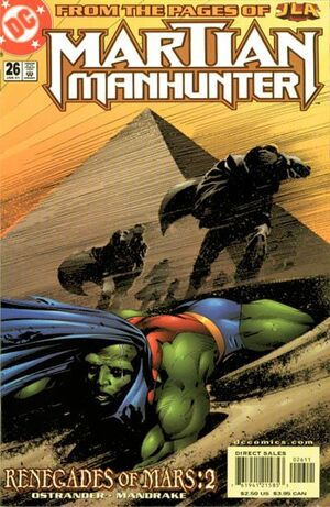 Cover for Martian Manhunter #26