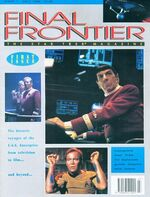 Final Frontier issue 1 cover