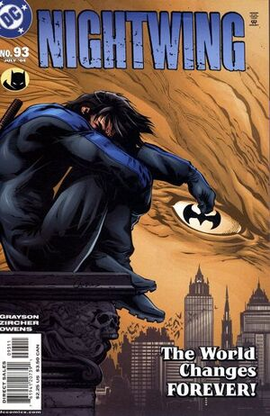 Cover for Nightwing #93
