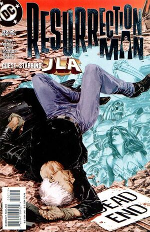 Cover for Resurrection Man #2