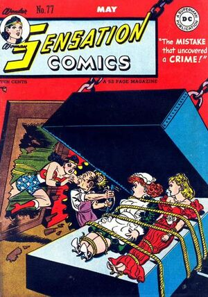 Cover for Sensation Comics #77