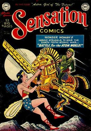 Cover for Sensation Comics #101