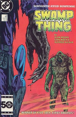Cover for Swamp Thing #45