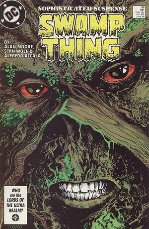 Cover for Swamp Thing #49
