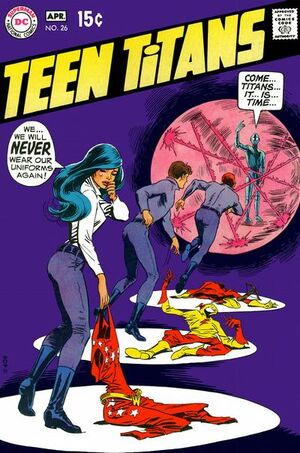 Cover for Teen Titans #26