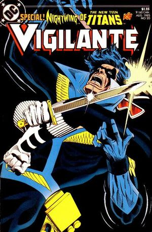 Cover for Vigilante #20