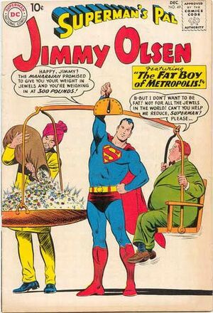 Cover for Superman&#39;s Pal, Jimmy Olsen #49