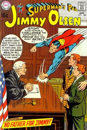 Cover for Superman's Pal, Jimmy Olsen #128