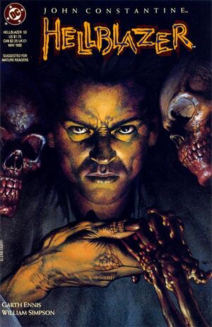 Cover for Hellblazer #53