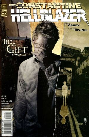 Cover for Hellblazer #213