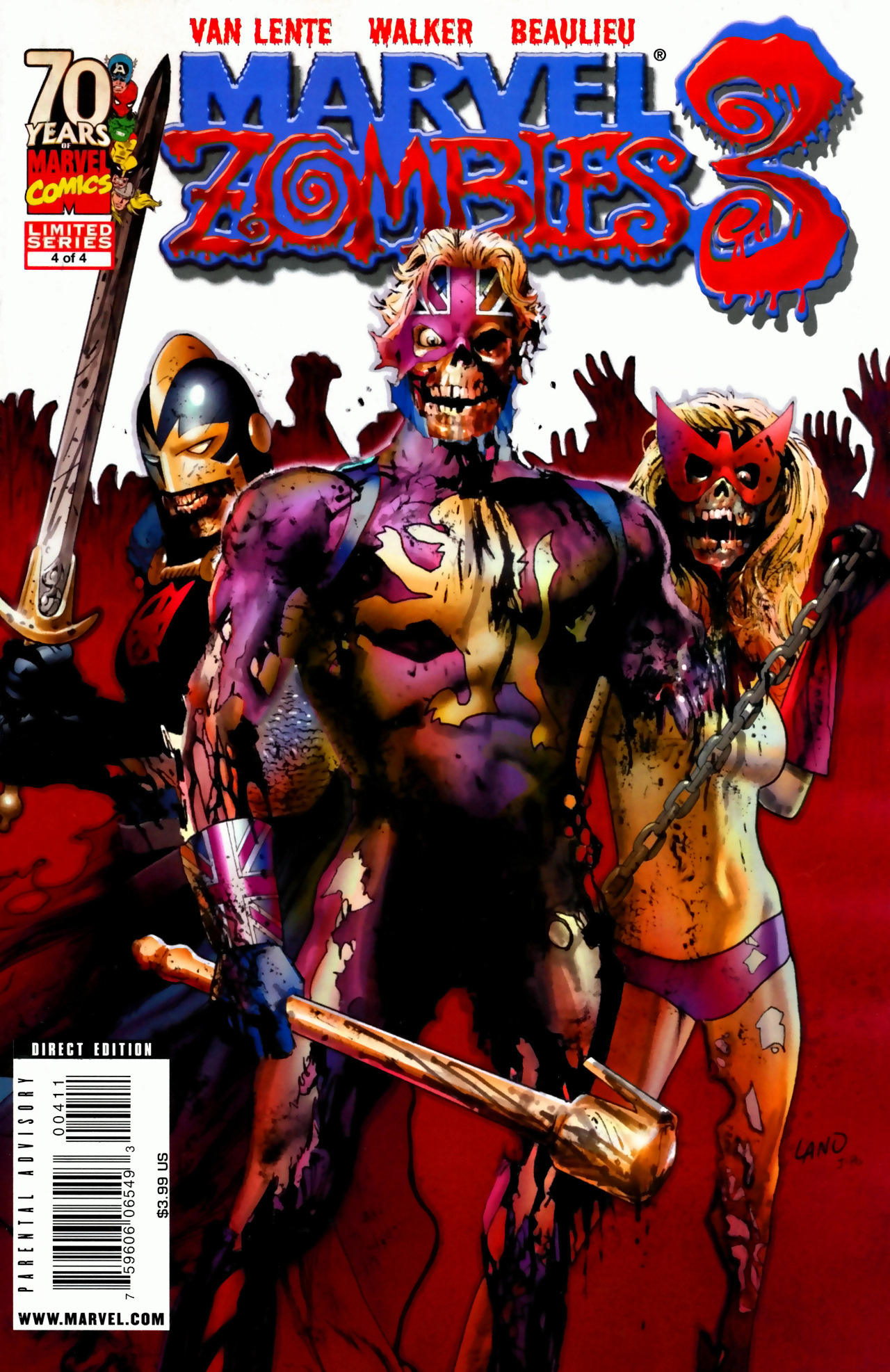 Marvel zombies 3 vol 1 4 marvel comics database