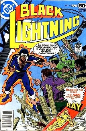 Cover for Black Lightning #11