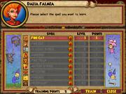 Dalia Falmea Trainable Spells