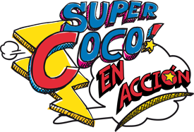 Supercoco en accion