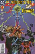 Sovereign Seven Plus Legion of Super-Heroes 1