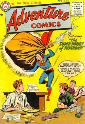 Cover for Adventure Comics #215