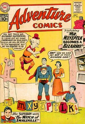 Cover for Adventure Comics #286