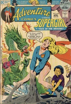Cover for Adventure Comics #418