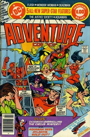 Cover for Adventure Comics #461