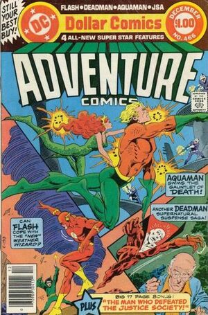 Cover for Adventure Comics #466