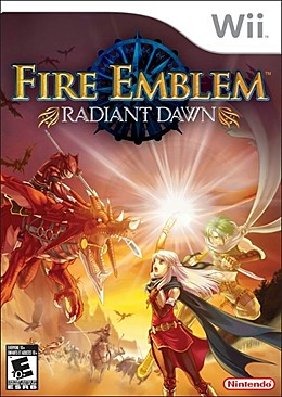 Fire Emblem Radiant Dawn Box Art