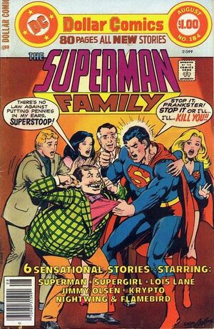 Cover for Superman Family #184