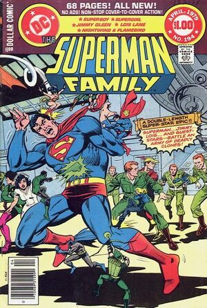 Cover for Superman Family #194