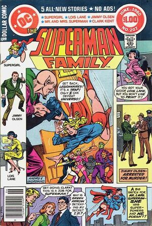 Cover for Superman Family #207