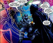 Final Crisis 6 Batman confronts Darkseid