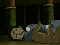 Katara paralyzed