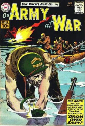 Cover for Our Army at War #107