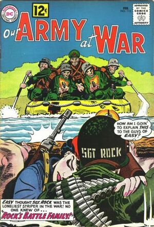 Cover for Our Army at War #115