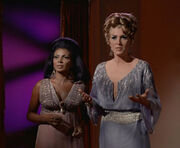 Uhura and Chapel on Platonius